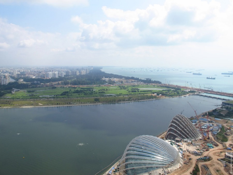 Marina Bay Sands SkyPark, Singapore (Марина Бэй Сэндс СкайПарк, Сингапур)