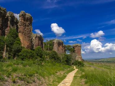 Бразилия. Национальный природный заповедник Вилла Велья.